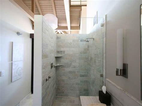 doorless shower plans doorless walk in bathroom shower design ideas pictures