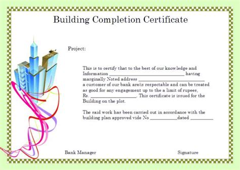 sle certificate of completion for insurance claim image