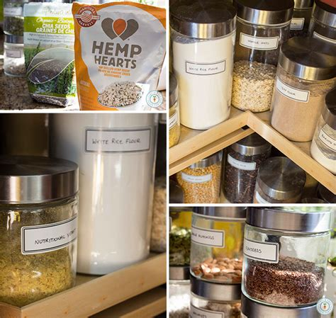 gluten free vegan pantry staples nuts and seeds