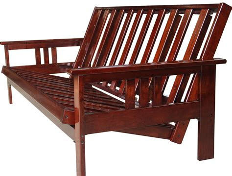 unfinished wood futon frame solid oak futon