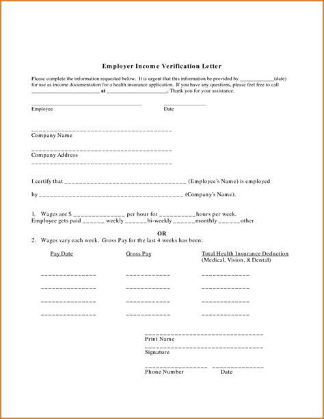11 Income Proof Letter Sle Lease Template Proof Of Loss Template