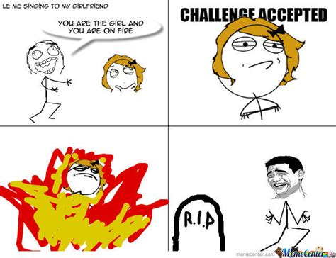 This Girl Is On Fire Meme - girl on fire by matej2504 meme center