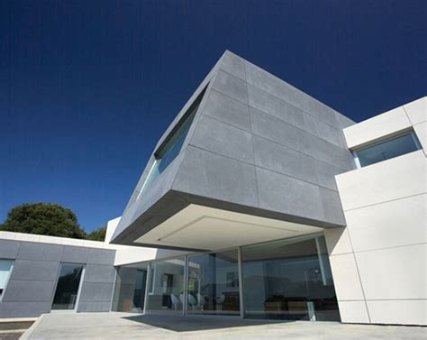 modern contemporary architecture in spain concrete glass and wood