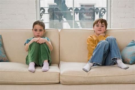 kids on couch couch potatoes no more video game will fight obesity