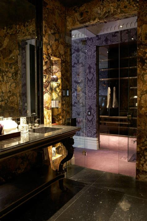 purple and gold bathroom oh by the way beauty interiors purple design