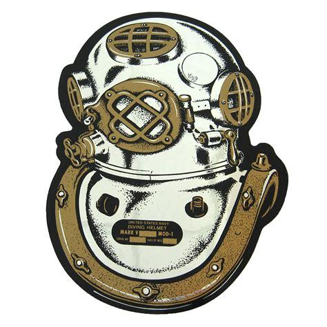 Helm Full Face Cutting Sticker by Mk V Mod 1 Helmet Sticker Deca Diving