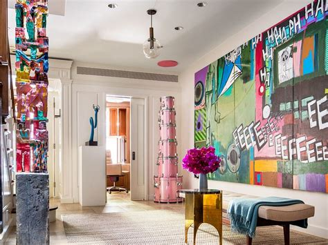 maximalist decor tour an art filled manhattan townhouse with a maximalist