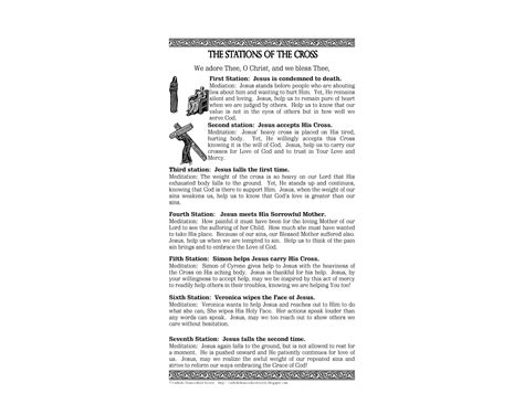 printable images stations of the cross 14 stations of the cross coloring pages