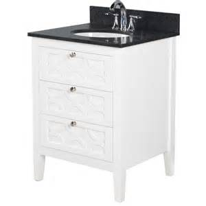 Lowes Bathroom Vanity Tops With Sinks Bestview Rotterdam 24 In White Vanity With Sky