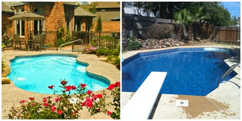 Vs Pool fiberglass pools vs vinyl liner pools brothers pool