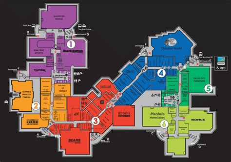 sawgrass mills map map of sawgrass store pictures to pin on pinsdaddy