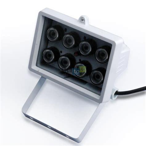 illuminatori infrarossi faretto illuminatore infrarossi 80 metri 8 array ir led