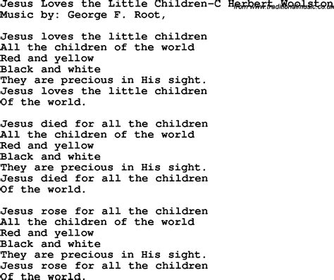 song for jesus untitled children s lyrics