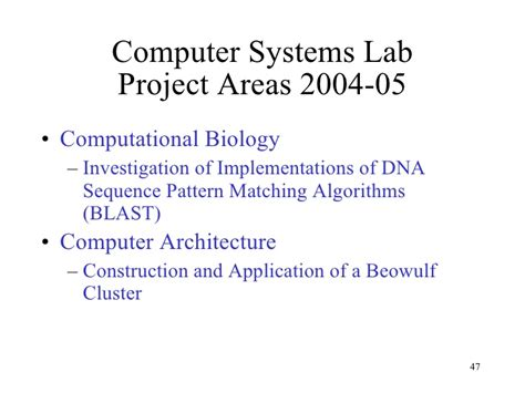 a fast exact pattern matching algorithm for biological sequences computer systems lab overview