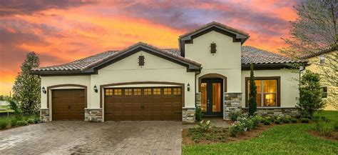 enclave at villagewalk new homes in lake nona