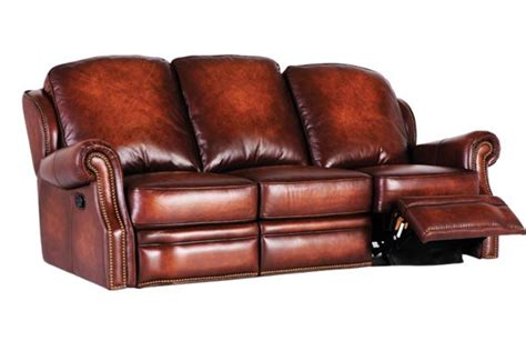 All Leather Reclining Sofa Mckinney All Leather Reclining Sofa At Gardner White