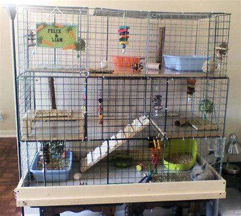 Used Rabbit Hutches For Sale Cheap How To Build A Rabbit Cage Using Cubes Advice For Indoor