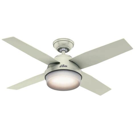 hunter dempsey ceiling fan hunter 59246 dempsey 44 quot fresh white 4 blade ceiling fan w