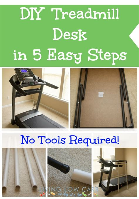 How To Make A Diy Treadmill Desk In 5 Easy Steps Desk Treadmill Diy