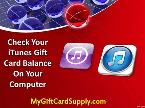 Itunes Gift Card Balance Check - check your itunes gift card balance on your desktop mygiftcardsupply