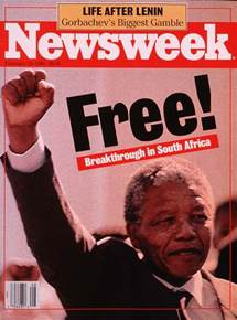 nelson mandela released from