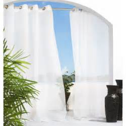 outdoor decor escape grommet outdoor curtain panel