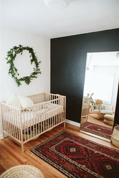 Beautiful Bohemian Nursery With Utilizing Used Goods Bohemian Nursery Decor
