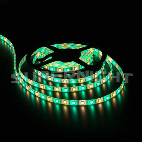 rv awning led light strip a3 rv awning cer 16 4ft rgbw w color changing led strip light kit dual lights