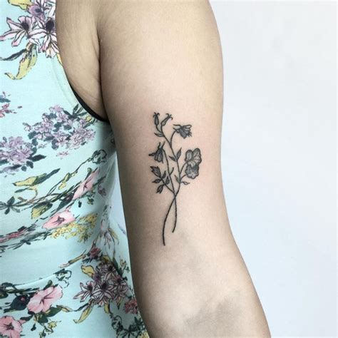 columbine tattoo best 25 columbine ideas on foot