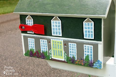 do you paint both sides of a front door the same color how to paint a miniature house pretty handy girl