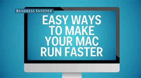 how to make your mac faster part 1 optimize performance watch simple tricks to boost the efficiency of your mac