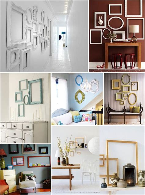 Bedroom Wall Frame Decor by 68 Best Empty Frame Ideas Images On Home Ideas