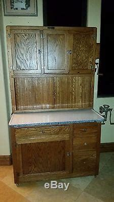 Antique Original Early 1900's Hoosier Mfg. Co. Kitchen Cabinet