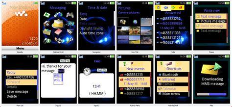 themes sony ericsson live with walkman handy theme w890i sony ericsson walkman screenshots archive