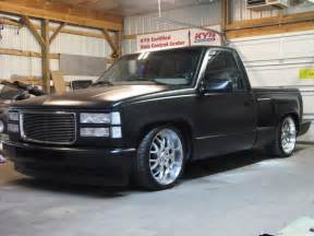 satin black paint truck 1991 stepside rides