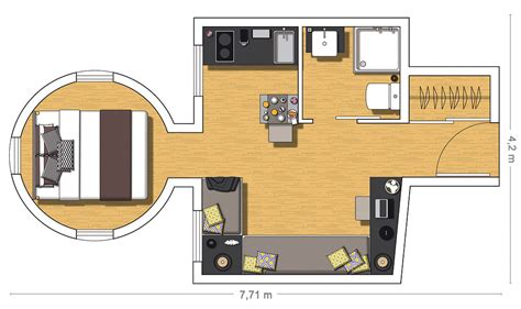 attic apartment floor plans charming tiny attic apartment with unique layout