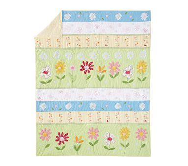 Pottery Barn Track My Order Daisy Garden Toddler Quilt Pottery Barn Kids