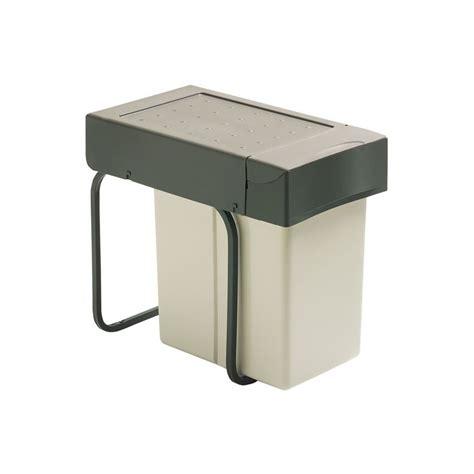 poubelles de cuisine encastrables poubelle sous 233 vier 1 bac 20 litres