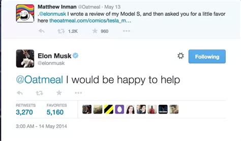 elon musk tweet 4 answers what are some of elon musk s best tweets quora