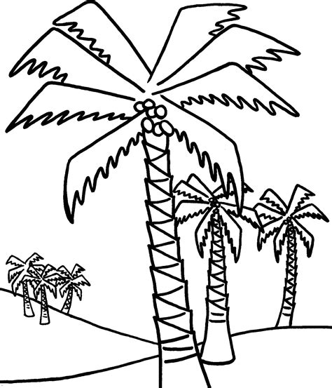 coloring pages palm leaves free palm leaves coloring pages