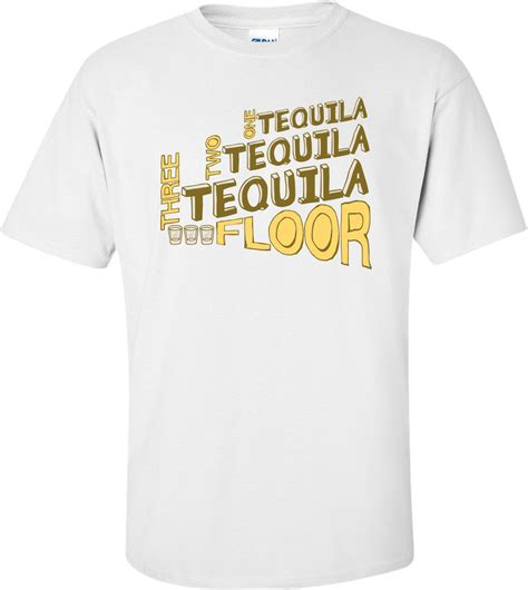 1 tequila 2 tequila 3 tequila floor shirt 3xlt one tequila two tequila three tequila floor t shirt