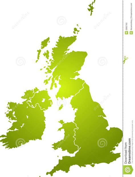 royalty free map uk map green royalty free stock photo image 2882765