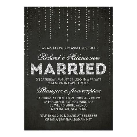 invitation wording wedding reception only 25 best ideas about reception only invitations on