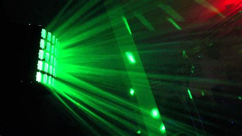 big disco light koollight derby effect led light 5 lens dmx dj disco