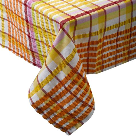 cotton table cloth online traditional bright seersucker table cloth 100 cotton