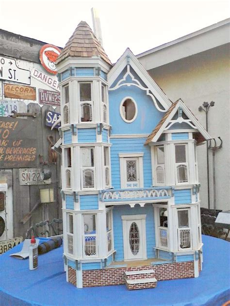 painted doll houses 17 best images about d7 painted lady dollhouses on pinterest queen anne mansions