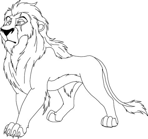 how to colour in a scar in your hairline free coloring pages of scar from lion king