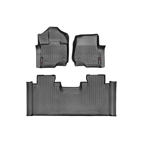 Laser Measured Floor Mats by Weathertech 2017 Ford Raptor Laser Measured Floor Mat Set