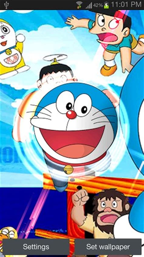 doraemon live wallpaper hd download doraemon hd live wallpaper for android by zar