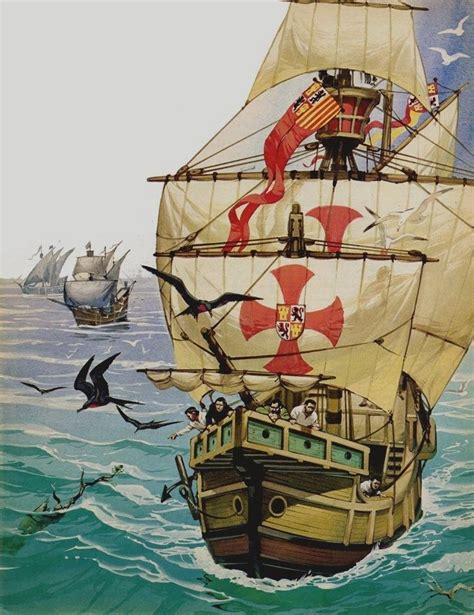 imagenes de los barcos de cristobal colon 25 melhores ideias de carabelas de cristobal colon no